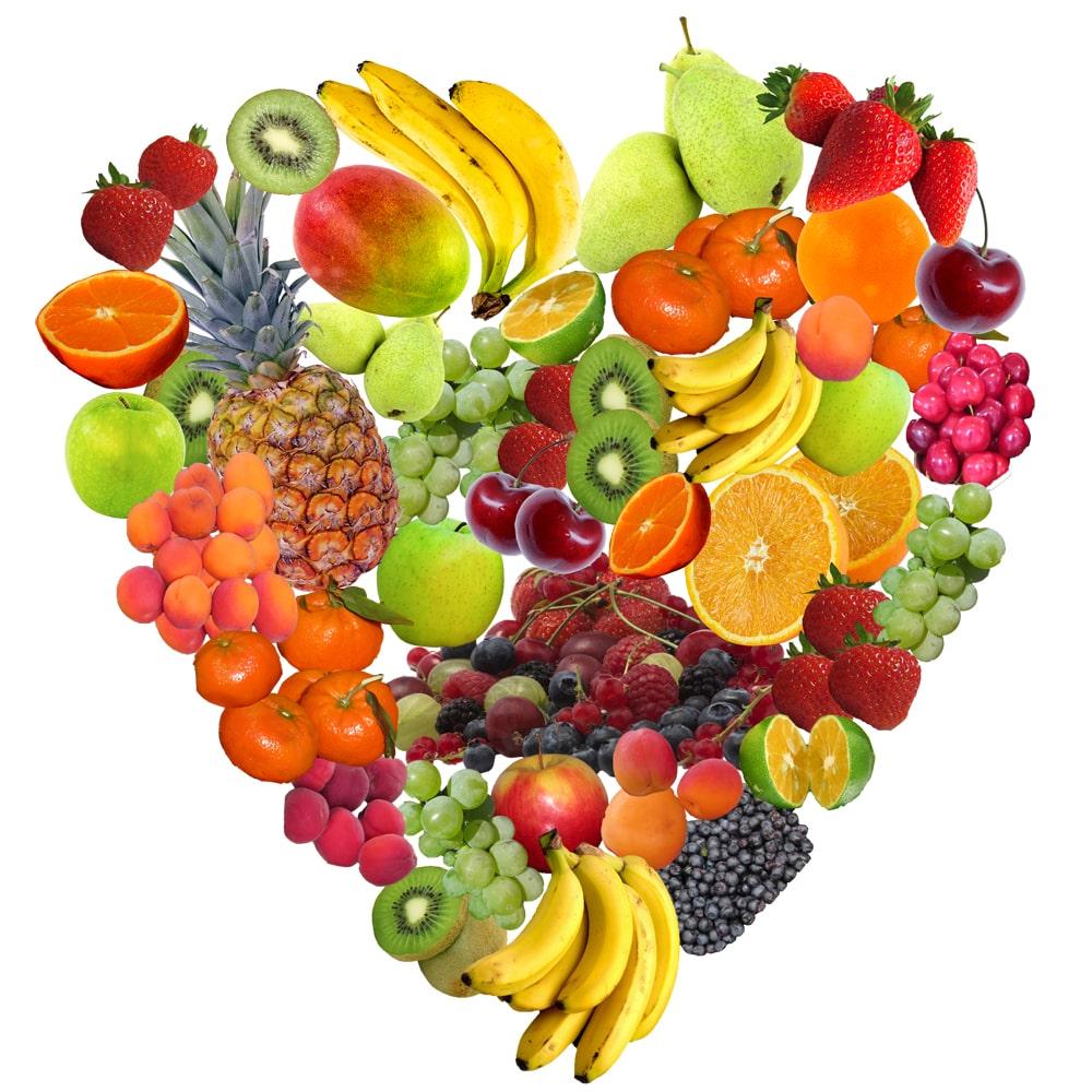 Jeden Tag Obst und Gemüse essen